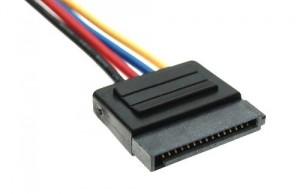 Conector de corriente de discos duros SATA