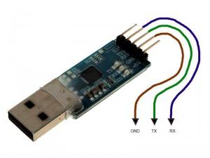 Conversor USB/UART para recuperación de datos